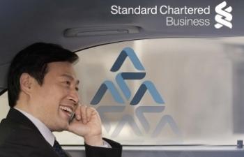 standard chartered viet nam ra mat chuong trinh vay mua xe cho doanh nghiep