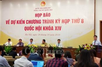 ky hop thu 8 quoc hoi khoa xiv danh 60 tong thoi gian cho cong tac xay dung phap luat