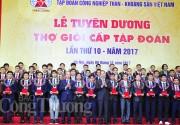 TKV vinh danh 395 công nhân thợ giỏi