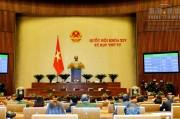 Quốc hội thông qua dự án Luật Quy hoạch