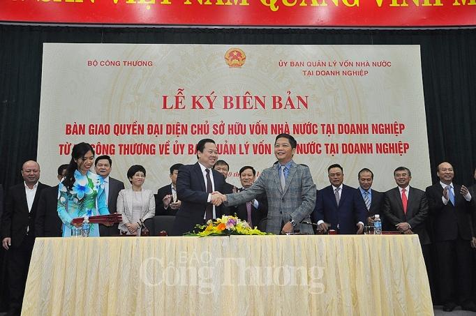 bo cong thuong chinh thuc ban giao cac doanh nghiep ve uy ban quan ly von nha nuoc tai doanh nghiep