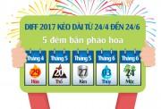 Vui chơi quên đường về với Lễ hội pháo hoa quốc tế Đà Nẵng 2017