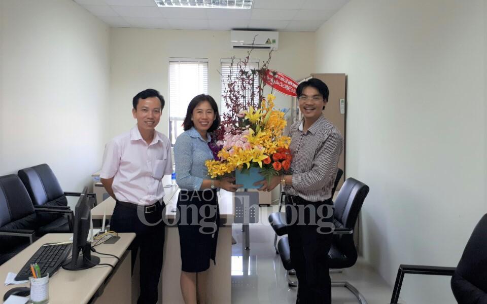 EVNCPC chúc mừng Báo Công Thương ngày báo chí cách mạng Việt Nam