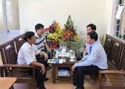 PC Thừa Thiên Huế thăm, chúc mừng Văn phòng Báo Công Thương tại Huế