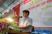 TKV khai mạc Hội thi thợ giỏi cấp tập đoàn lần thứ 10
