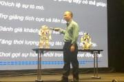 Robot NAO sẽ tham gia giảng dạy môn tiếng Anh cho học sinh Việt Nam