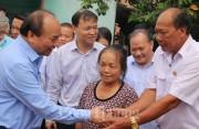 """Thủ tướng Nguyễn Xuân Phúc về thăm, làm việc tại xã Đức Trạch: """"Cần đổi mới tư duy, tạo động lực phát triển"""""""