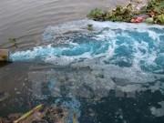 Xả thải gây ô nhiễm, một doanh nghiệp nước ngoài bị xử phạt
