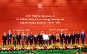 Thống nhất xây dựng ngành năng lượng ASEAN bền vững và xanh, sạch
