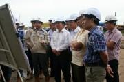 Thứ trưởng Hoàng Quốc Vượng yêu cầu các nhà thầu đẩy nhanh tiến độ dự án Long Phú 1