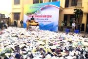 Quảng Ninh: Tiêu hủy hàng giả, hàng cấm trị giá gần 3 tỷ đồng