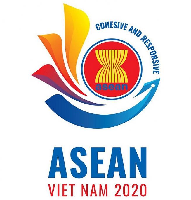 cong bo logo nam asean 2020