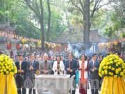 Khai hội mùa Xuân khu di tích Côn Sơn - Kiếp Bạc