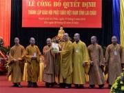 Thành lập Giáo hội Phật giáo Việt Nam tỉnh Lai Châu