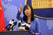 Việt Nam phản đối điều chỉnh quy chế đánh bắt cá trên biển của Trung Quốc