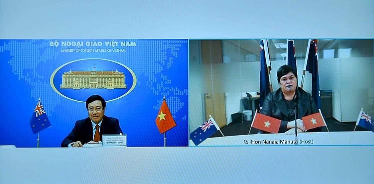 Quan hệ Việt Nam - New Zealand ngày càng phát triển hiệu quả và sâu rộng