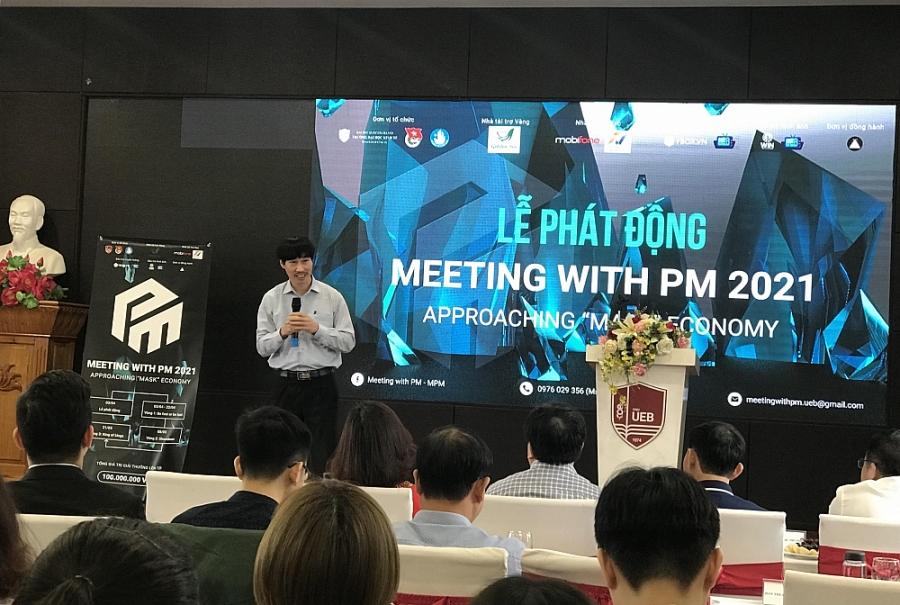 Meeting with PM 2021: Sân chơi lý thú về kinh tế, chính trị cho sinh viên