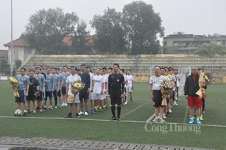 Liên quân các đơn vị Bộ Công Thương tham gia Giải bóng đá tứ hùng lần I