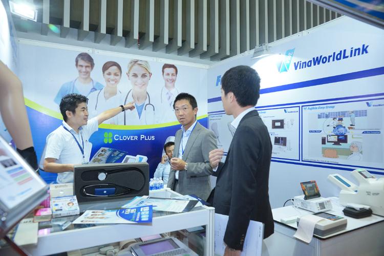Vietnam Medipharm Expo 2018 quy tụ nhiều doanh nghiệp y dược hàng đầu