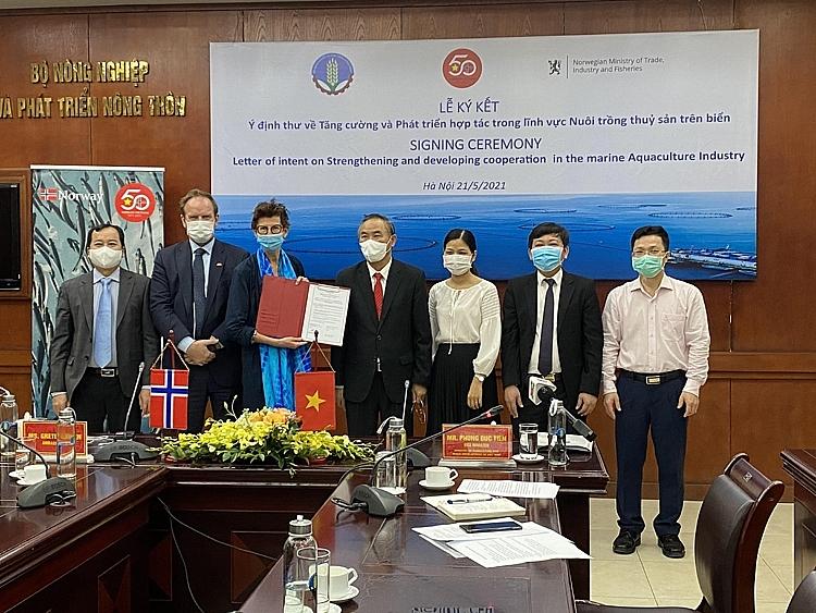 Việt Nam - Na Uy thúc đẩy hợp tác song phương ngành thủy sản
