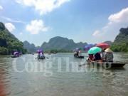 Du lịch Ninh Bình đặt mục tiêu đạt doanh thu 3.000 tỷ đồng năm 2020