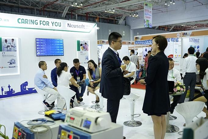 Hơn 400 doanh nghiệp trên thế giới tham gia triển lãm quốc tế y dược 2019