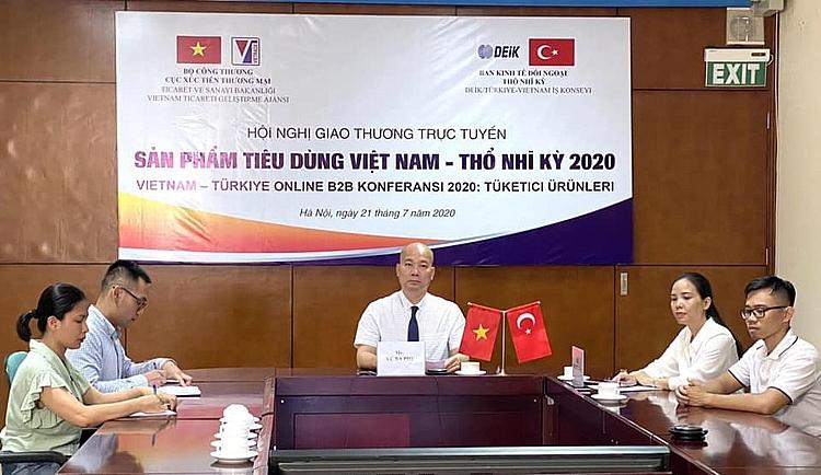 Duy trì kết nối thương mại Việt Nam - Thổ Nhĩ Kỳ