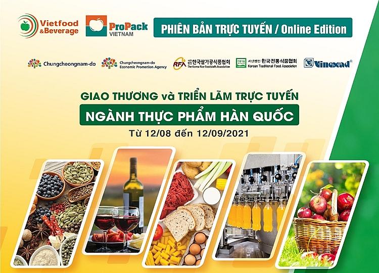 Giao thương trực tuyến thực phẩm Việt Nam – Hàn Quốc