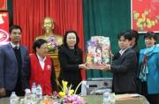 Hà Nội mang Tết sớm đến người nghèo huyện Ba Vì