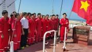 Tàu M/T PVT Eagle xuất hành chuyến hàng đầu năm đến khu vực chiến sự Yemen