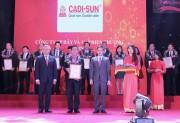 CADI-SUN tăng 18 bậc trong bảng xếp hạng Top 500 doanh nghiệp lớn nhất Việt Nam