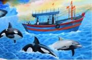 Hoàn thành dự án vẽ tranh vì biển đảo quê hương