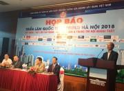 Triển lãm Vietbuild Hà Nội 2018 quy  mô lớn với hơn 1.700 gian hàng
