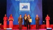 MB dẫn đầu nhóm ngân hàng cổ phần trong 500 DN Việt Nam thịnh vượng 2017