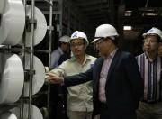 Nhà máy Xơ sợi Đình Vũ vận hành trở lại 3 dây chuyền sản xuất sợi DTY