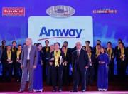 Amway Việt Nam lần thứ tư nhận giải thưởng Rồng Vàng