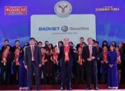 BVSC nhận giải thưởng Thương hiệu Mạnh lần thứ 5 liên tiếp