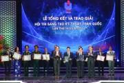 4 giải pháp ngành Dầu khí đạt giải trong Hội thi Sáng tạo Kỹ thuật toàn quốc lần thứ 14
