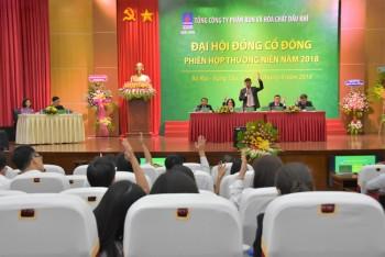 pvfcco to chuc thanh cong phien hop thuong nien 2018 cua dai hoi dong co dong