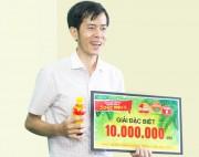 Tân Hiệp Phát trao hàng ngàn giải thưởng chương trình khuyến mãi hè cho khách hàng