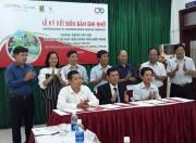 Central Group và Trung tâm CRD hợp tác đào tạo nông dân thuộc dự án Sinh kế cộng đồng