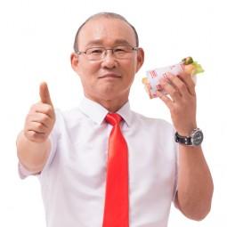 Seoul's Hotdog và ông Park Hang Seo đại diện hình ảnh thương hiệu Đức Việt
