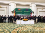 Bộ Công Thương Việt Nam và Bộ Mỏ và Năng lượng Campuchia ký Bản ghi nhớ về hợp tác trong lĩnh vực điện