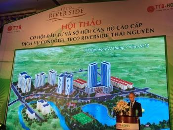 condotel riverside thai nguyen khu do thi thong minh dau tien tai que huong xu tra