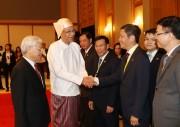 Bộ trưởng Bộ Công Thương Trần Tuấn Anh tham gia đoàn Tổng Bí thư thăm Cấp nhà nước tới Myanmar