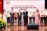 vietjet thuoc top 100 doanh nghiep nop thue lon nhat viet nam nam 2017