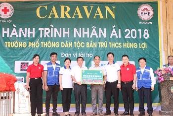hanoisme caravan hanh trinh nhan ai chia se yeu thuong