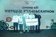 """Cuộc thi """"Vietnam IoT Hackathon 2017"""" đã tìm ra đội vô địch"""