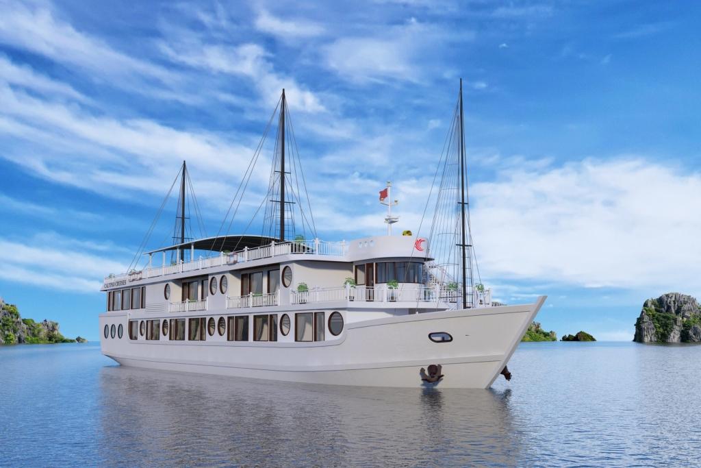 oriental sails chinh thuc mo ban du thuyen calypso cruises tren vinh lan ha