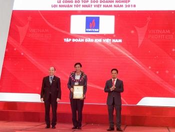 pvn dung dau top 500 doanh nghiep co loi nhuan tot nhat viet nam nam 2018